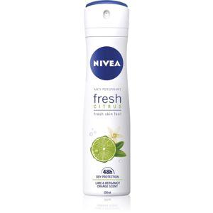 Nivea Fresh Citrus antiperspirant v spreji 48h 150 ml