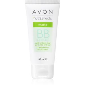 Avon Nutra Effects Matte zmatňujúci BB krém 5 v 1 odtieň Extra Light 30 ml