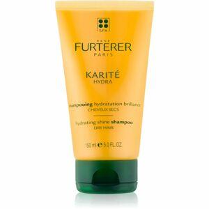 René Furterer Karité Hydra hydratačný šampón pre lesk suchých a lámavých vlasov 150 ml