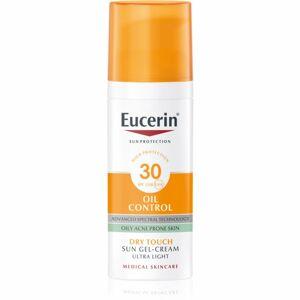 Eucerin Sun Oil Control ochranný krémový gél na tvár SPF 30 50 ml