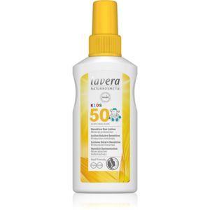 Lavera Sun Sensitiv Kids detský sprej na opaľovanie SPF 50 100 ml