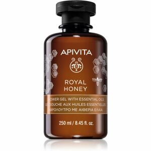 Apivita Royal Honey hydratačný sprchový gél s esenciálnymi olejmi 250 ml