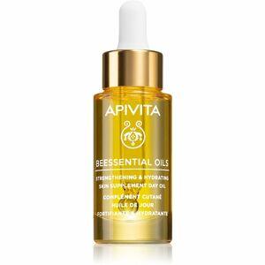 Apivita Beessential Oils rozjasňujúci denný olej pre intenzívnu hydratáciu pleti 15 ml