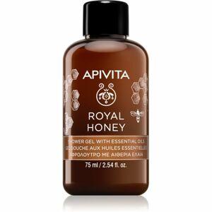 Apivita Royal Honey hydratačný sprchový gél s esenciálnymi olejmi 75 ml