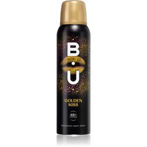 B.U. Golden Kiss dezodorant v spreji pre ženy 150 ml