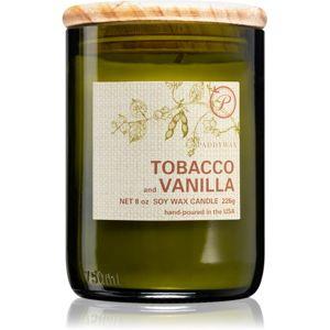 Paddywax Eco Green Tabacco & Vanilla vonná sviečka 226 g