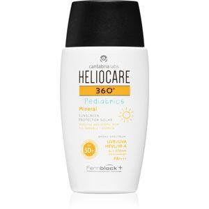 Heliocare 360° Pediatrics fluidný minerálny krém na opaľovanie SPF 50+ 200 ml