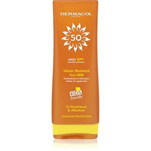 Dermacol Sun Water Resistant vodeodolné mlieko na opaľovanie pre deti SPF 50 200 ml