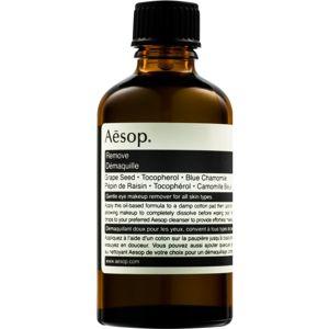 Aēsop Skin Eye Make-up Remover upokojujúci olej na odlíčenie očí 60 ml